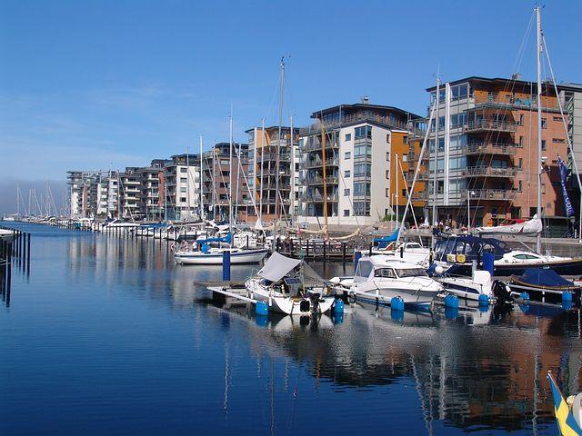 Arkitekter i Malmö inspireras av havet